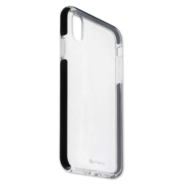 4smarts Soft Cover AIRY-SHIELD für Apple iPhone Xs Max - Schwarz