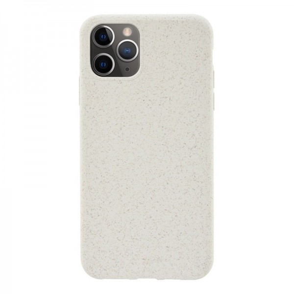 4-OK ECO Cover Biodegradable Hülle für Apple iPhone 11 Pro - Natural White (Weiss)