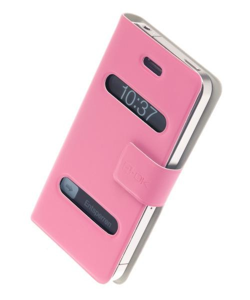 4-OK SLIM FIT - Pink für Apple iPhone 4 und 4S