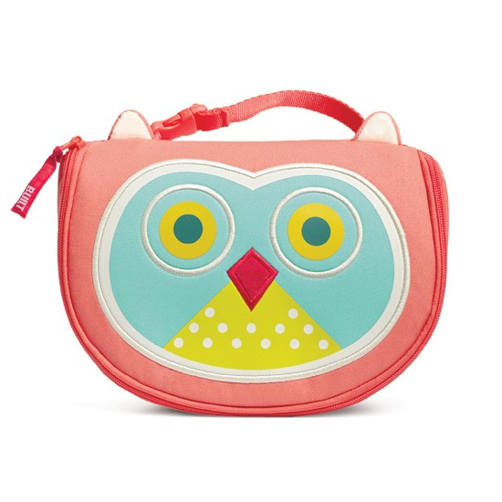 BUILT NY Big Apple Buddies Lunch Bag Owl Astor