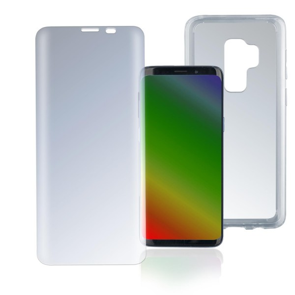 "4smarts 360 Premium Protection Set ""Case Friendly"" für Samsung Galaxy S8+ - Transparent"