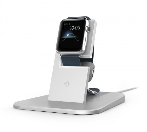 Twelve South HiRise Stand für Apple Watch - Silber
