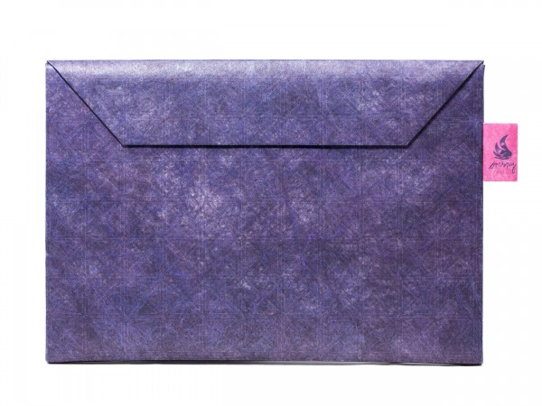 Crispy Wallet Slimsleeve für MacBook Pro 13 (ab 2014) und MacBook Air 13, Blue Coffee