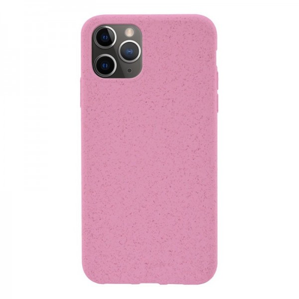 4-OK ECO Cover Biodegradable Hülle für Apple iPhone 11 Pro - Light Pink
