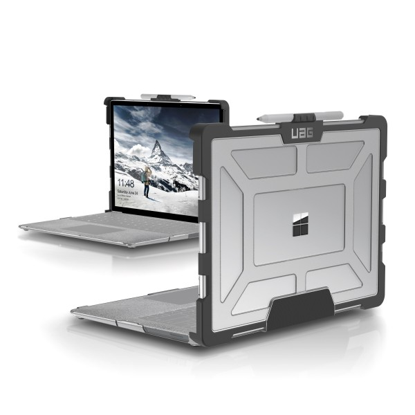 Urban Armor Gear Plasma Case für Microsoft Surface Laptop - Ice/Schwarz
