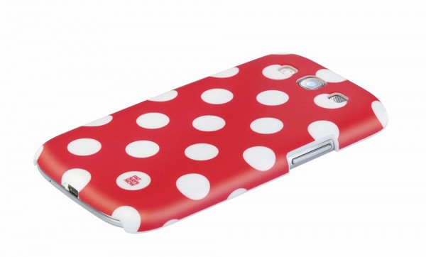 Pat Says Now Galaxy S3 Case Red Polka Dot (4228)