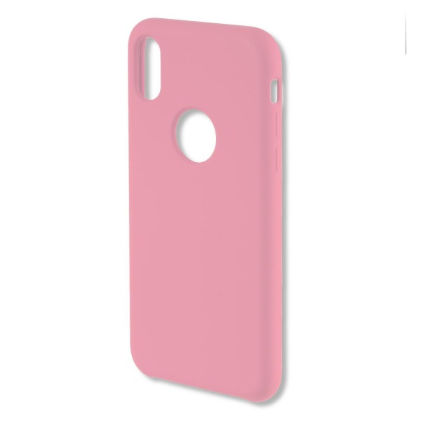4smarts Liquid Silikon Case CUPERTINO für Apple iPhone Xs/X - Pink