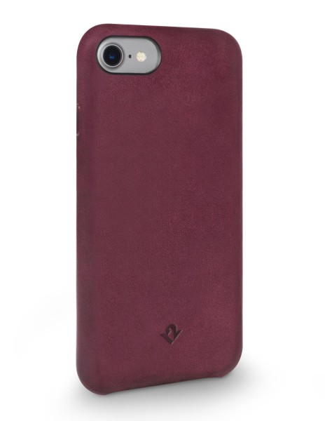 Twelve South Relaxed Leather Clip für Apple iPhone 8/7/6/6S - Marsala