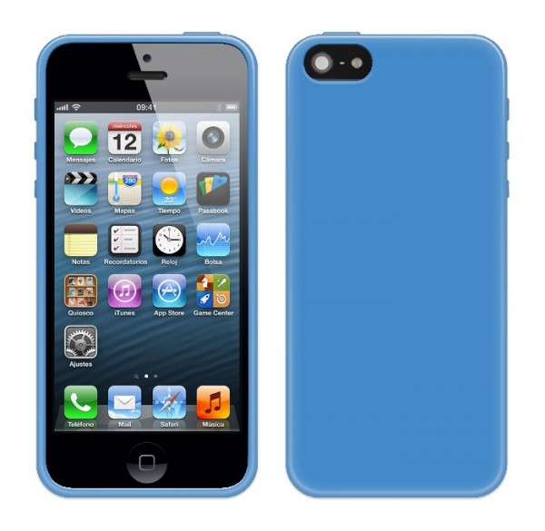 4-OK Protek Colors für Apple iPhone 5 in Blau