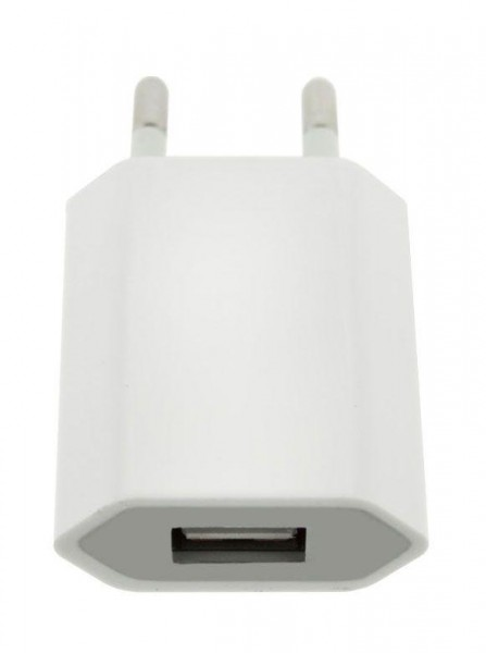 4-OK USB Home + Car 1A in Weiss