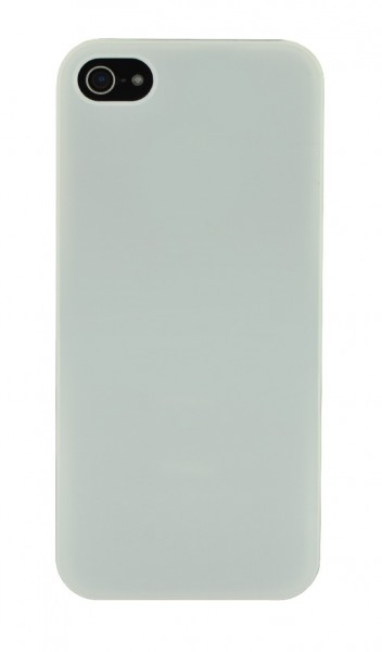 4-OK Back Cover für Apple iPhone 5 in Weiss
