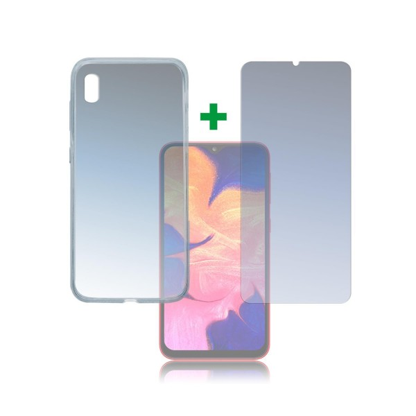 4smarts 360 Protection Set Limited Cover für Samsung Galaxy A10 - Transparent