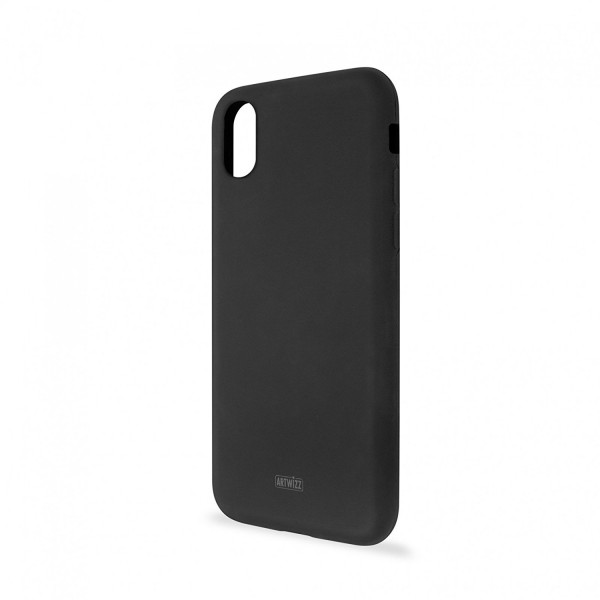 Artwizz Silicone Case für Apple iPhone X - Schwarz