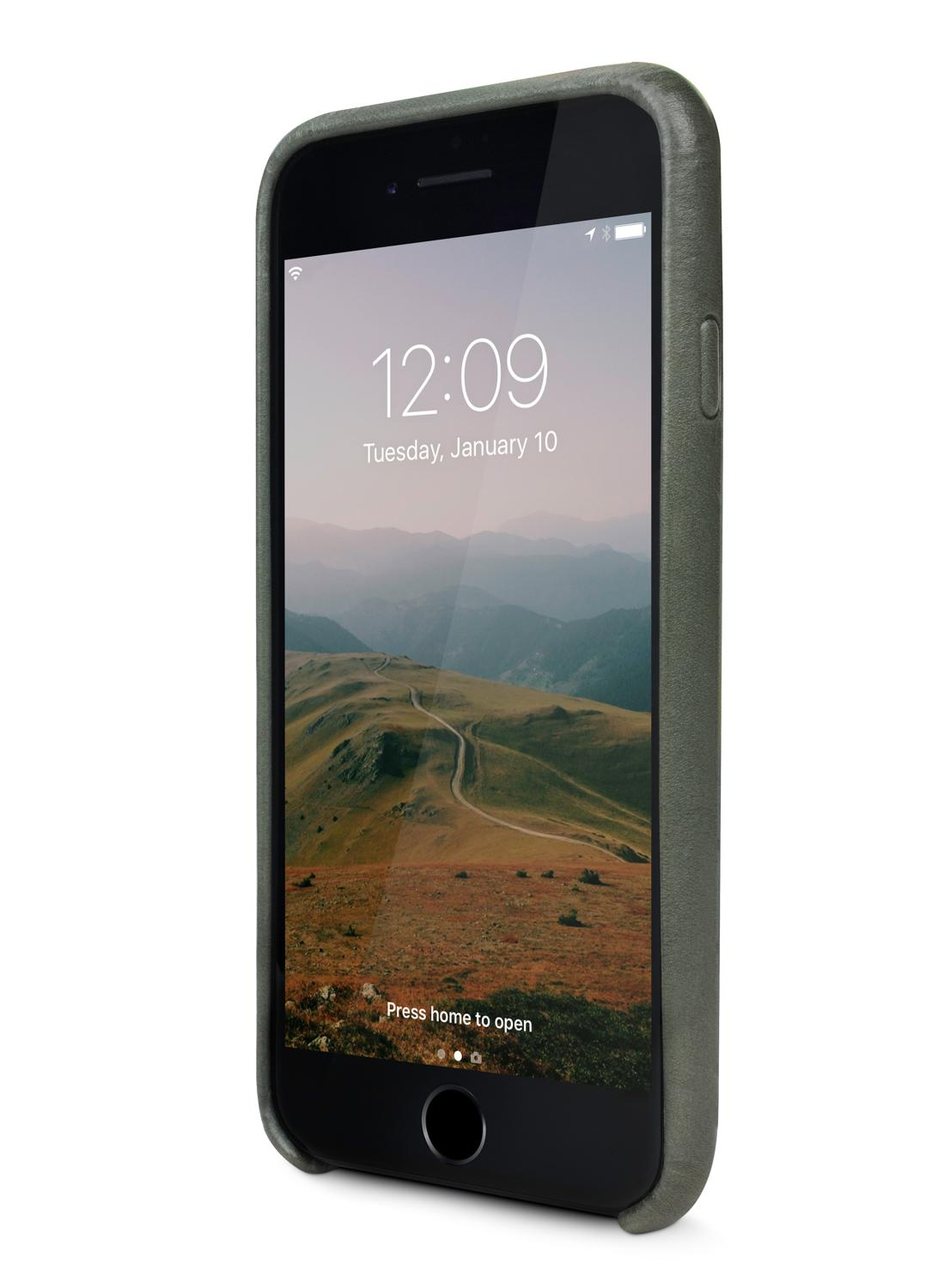 Twelve South Relaxed Leather Clip für Apple iPhone 8/7/6/6S - dried herb