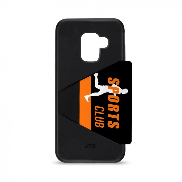 Artwizz TPU Card Case für Samsung Galaxy A8 (2018)