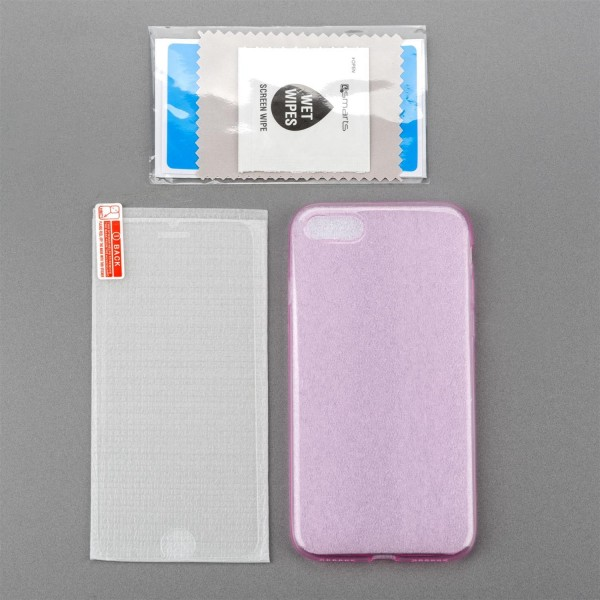 4smarts 360 Protection Set für Apple iPhone 8 / 7 - Pink