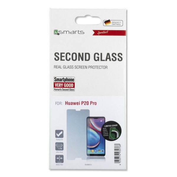 4smarts Second Glass Limited Cover für Huawei P20 Pro