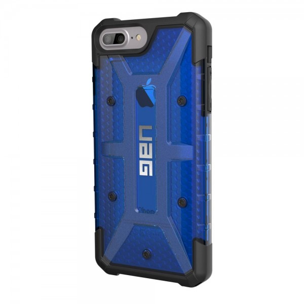 Urban Armor Gear Plasma für Apple iPhone 8/7/6s/6 Plus - Cobalt/Schwarz