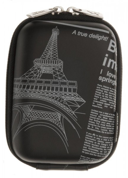 Riva 7023 PU Digital Case Schwarz Newspaper