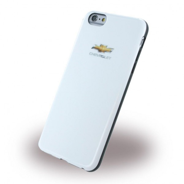 Chevrolet Hard Cover Hülle für Apple iPhone 6 Plus/6s Plus - Shiny Weiss