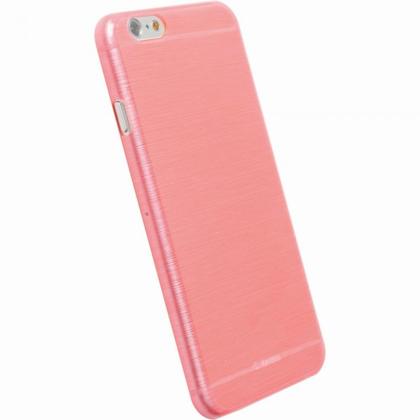 Krusell FrostCover 89991 für Apple iPhone 6 - Transparent Pink