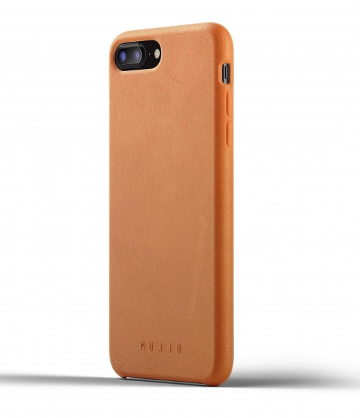 Mujjo Full Leather Case für Apple iPhone 7/8 Plus - Tan