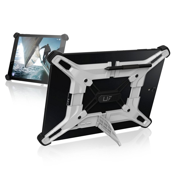 Urban Armor Gear Exoskeleton 10 Universal Android Tablet Case - Weiss/Schwarz