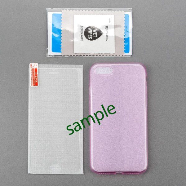 4smarts 360 Protection Set Limited Cover für Huawei P9 lite pink