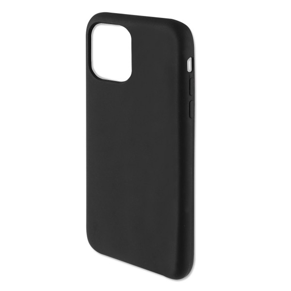 "4smarts Liquid Silikon Case CUPERTINO für Apple iPhone 12 Pro /12 (6.1"") - Schwarz"