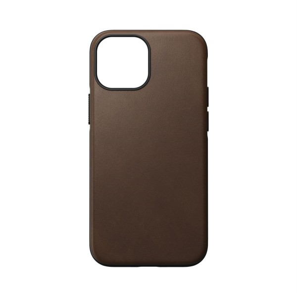 Nomad Modern Case Rustic Brown Leather MagSafe für iPhone 13 Mini