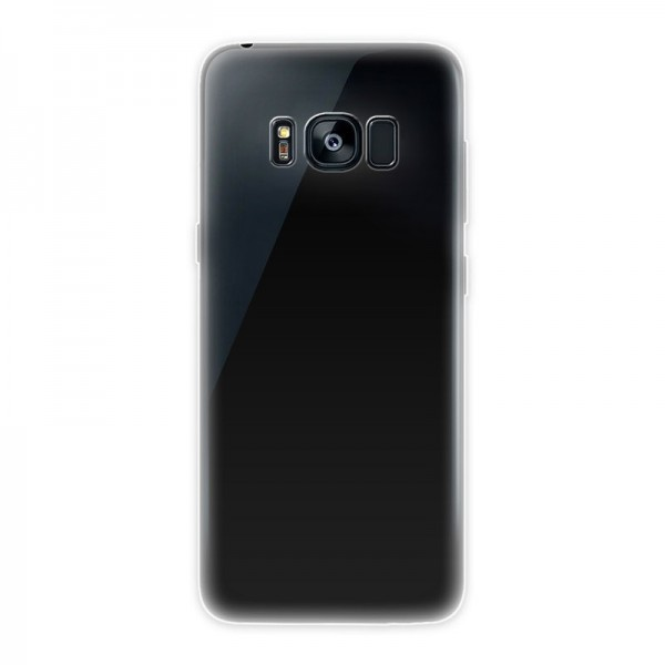 4-OK Ultra Slim 0.2 Color Schutzhülle für Samsung Galaxy S8 Plus - Transparent