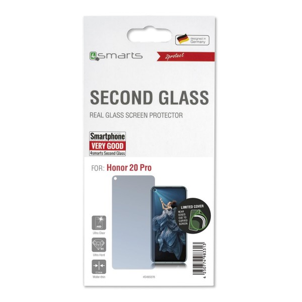 4smarts Second Glass Limited Cover für Honor 20 Pro