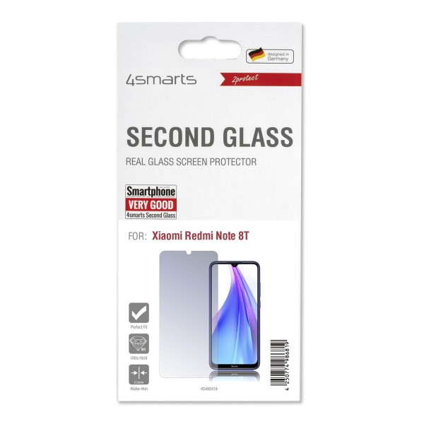 4smarts Second Glass für Xiaomi Redmi Note 8T