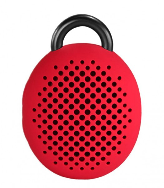 Divoom Bean Bluetooth Lautsprecher in Rot