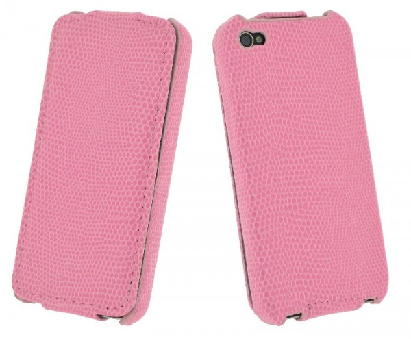 4-OK Klap für Apple iPhone 5 in Pink