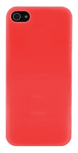 4-OK Back Cover für Apple iPhone 5 in Rot