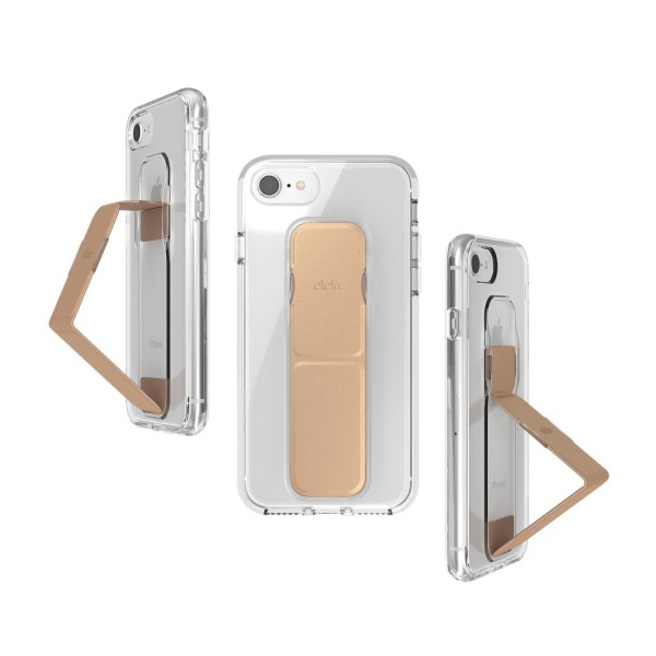 CLCKR CLEAR GRIPCASE FOUNDATION für Apple iPhone 6/6s/7/8/SE 2G - clear/rose gold colored