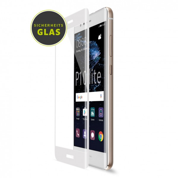 Artwizz CurvedDisplay für Huawei P10 lite (Glass Protection) - Weiss