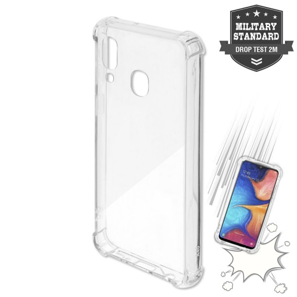 4smarts Hard Cover IBIZA für Samsung Galaxy A40 - Transparent