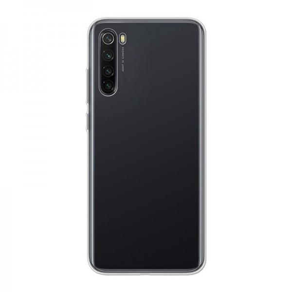 4-OK Ultra Slim 0.2 Case Schutz Hülle für Xiaomi Redmi Note 8 - Transparent