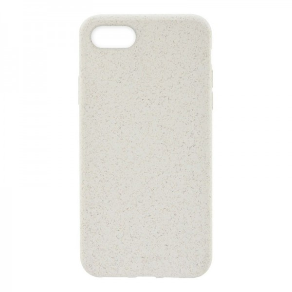 4-OK ECO Cover Biodegradable Hülle für Apple iPhone 7 / 8 - Natural White (Weiss)
