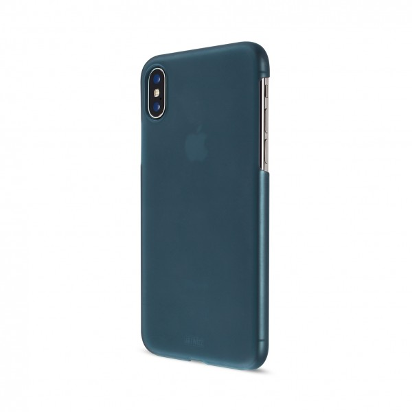 Artwizz Rubber Clip für Apple iPhone X/Xs - Spaceblue