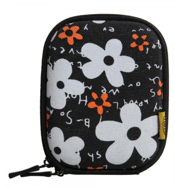 Bilora Shell Bag IV Flower Schwarz