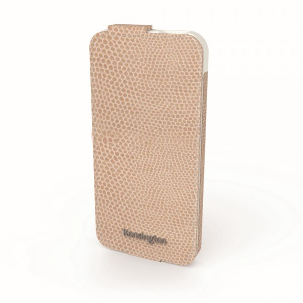Kensington Flip Wallet für Apple iPhone 5 in Coffee Snake