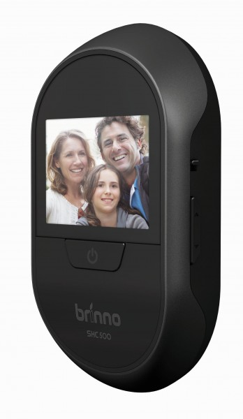 Brinno SHC500 14mm Smart Home Camera 500 - digitaler Türspion in Schwarz