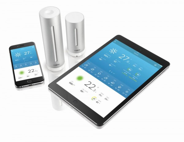 Netatmo Urban Weather Station mit App für Smartphones, iPhone, iPad