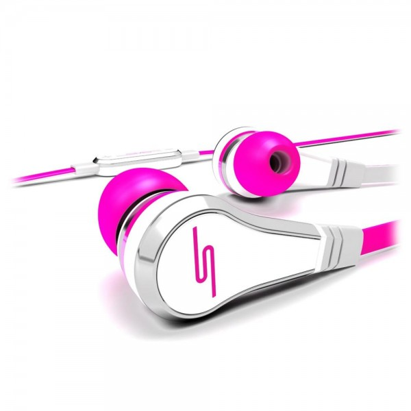 SMS Audio STREET by 50 Wired Earbuds in Pink
