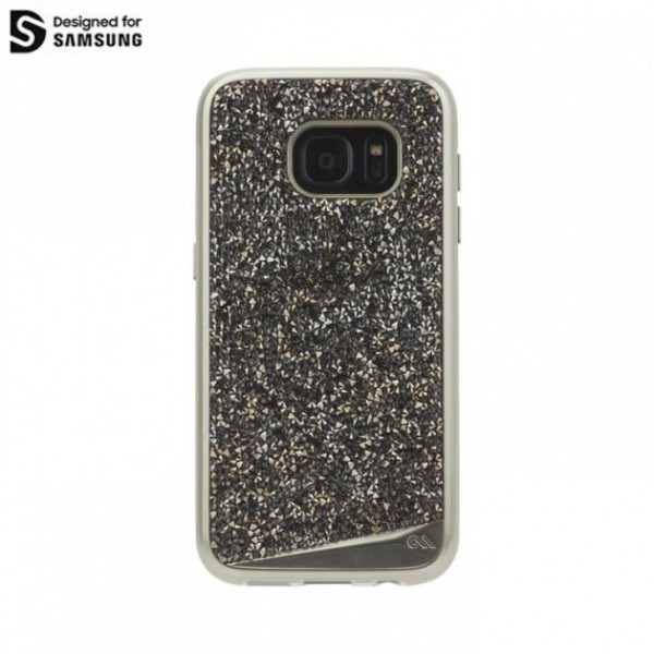 Case-Mate Brilliance Case für Samsung Galaxy S7 edge - Champagner
