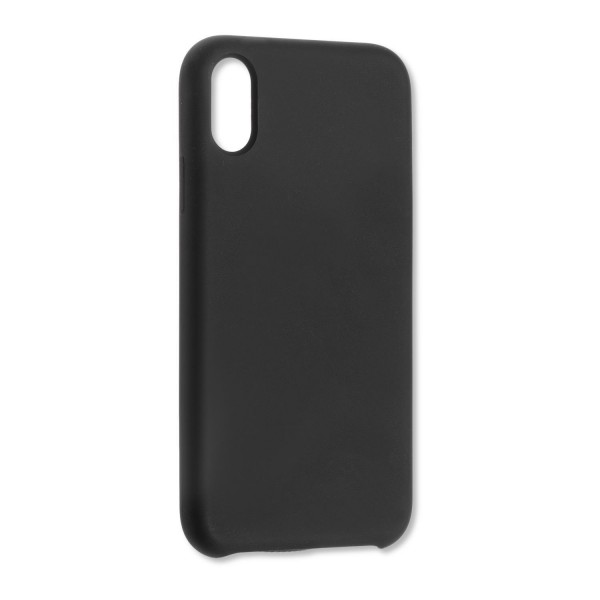 4smarts Liquid Silikon Case CUPERTINO für Apple iPhone XR - Schwarz