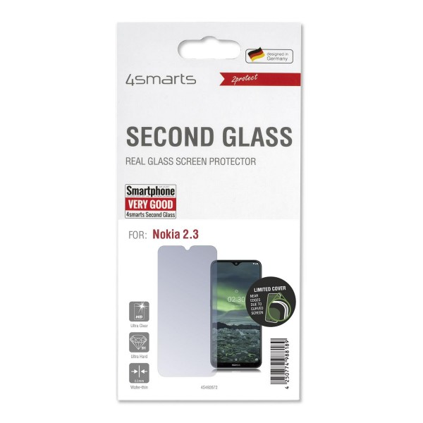 4smarts Second Glass Limited Cover für Nokia 2.3